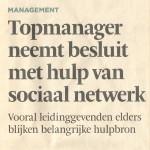 topmanager sociaal netwerk